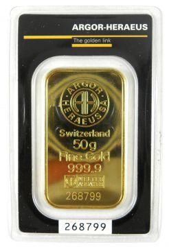 Argor-Heraeus 50 g -