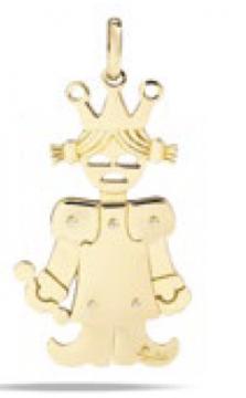 Gold Pendant - M.0329FO