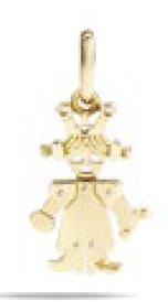 Gold Pendant - M.0046FO