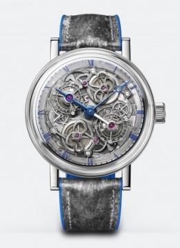 """Classique Double Tourbillon 5345 """"Quai de l'Horloge"""" - 5345PT/1S/7XU"""