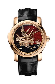 North Sea Minute Repeater - 736-61/E2-OIL