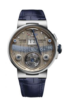 Marine Tourbillon Grand Deck - 6300-300/GD