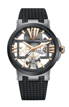 Executive Skeleton Tourbillon - 1713-139/02-BQ
