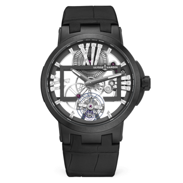 Skeleton Tourbillon 45 mm - 1713-139/MAGIC-BLACK