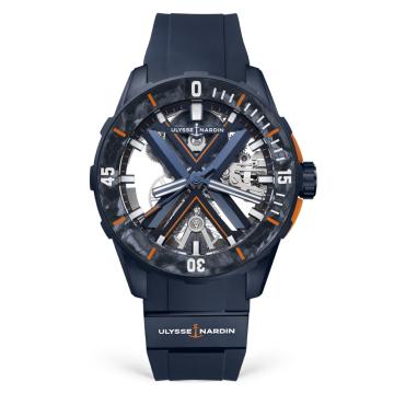 Diver X Skeleton 44mm - 3723-170LE-3A-BLUE/3A