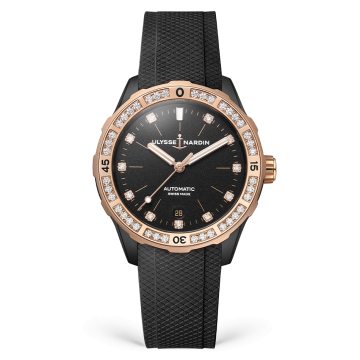 Lady Diver 39 mm - 8165-182B-3/BLACK