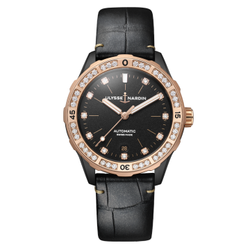 Lady Diver 39 mm - 8165-182B/BLACK
