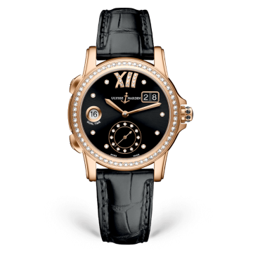 Lady Dual Time 37.5 mm - 3346-222B/30-02