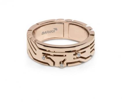 Baraka Ring - AN275131RODB