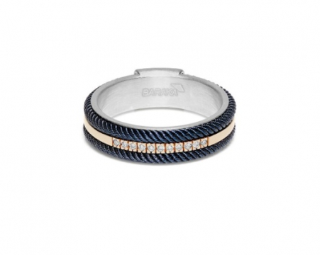Baraka Ring - AN293041RODB