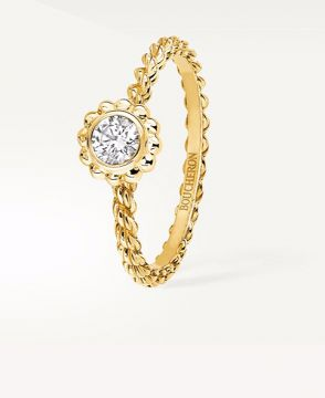 SERPENT BOHÈME GOLD BEADS SOLITAIRE - JSL00164
