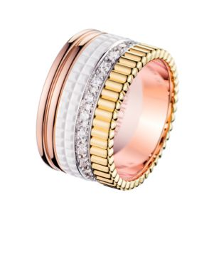QUATRE WHITE EDITION LARGE RING - JRG01599