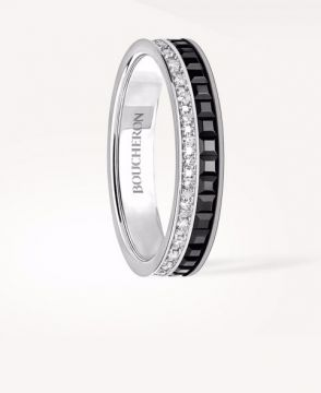 QUATRE BLACK EDITION WEDDING BAND - JAL00227