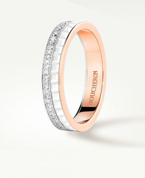 QUATRE WHITE EDITION WEDDING BAND - JAL00237