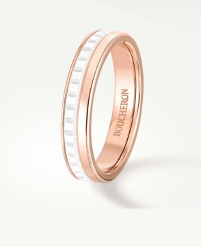 QUATRE WHITE EDITION WEDDING BAND - JAL00238