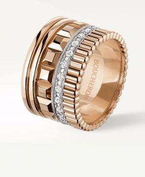 QUATRE RADIANT EDITION LARGE RING - JRG02484