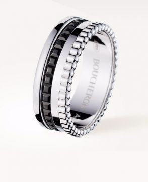 QUATRE BLACK EDITION SMALL RING - JRG01790