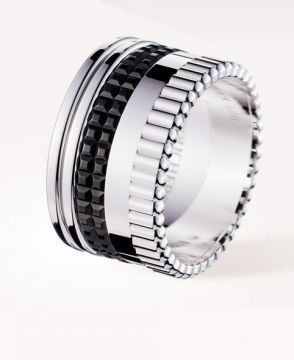 QUATRE BLACK EDITION LARGE RING - JRG01789