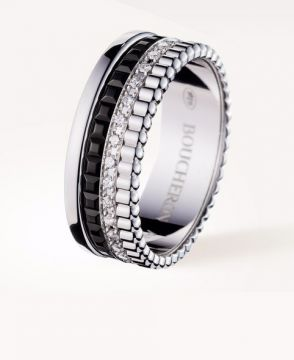 QUATRE BLACK EDITION SMALL RING - JRG01791