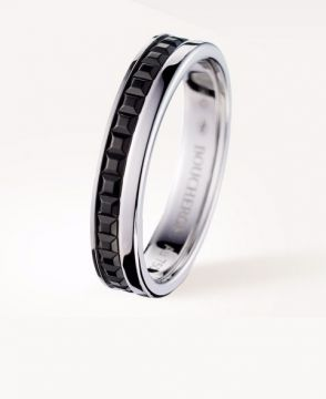 QUATRE BLACK EDITION WEDDING BAND - JAL00206