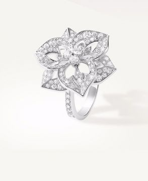 PENSÉE DE DIAMANTS MEDIUM RING - JRG02170