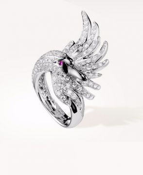 CYPRIS, THE SWAN RING DIAMONDS - JRG01476