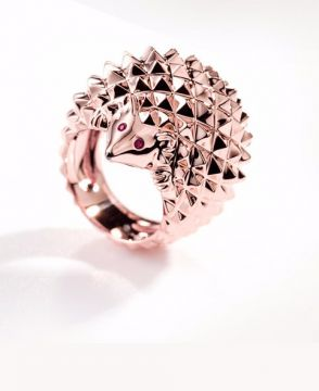 HANS, THE HEDGEHOG RING - JRG00630