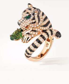 BAGHA, THE TIGER RING TOURMALINE - JRG02104