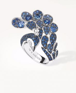 HÉRA, THE PEACOCK RING SAPPHIRES - JRG01969