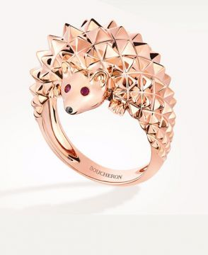 HANS, THE HEDGEHOG RING - JRG02186