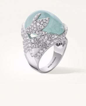ARCTIC, THE PENGUIN RING AQUAMARINE - JRG02249