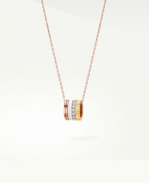 QUATRE WHITE EDITION MINI RING PENDANT - JPN00492