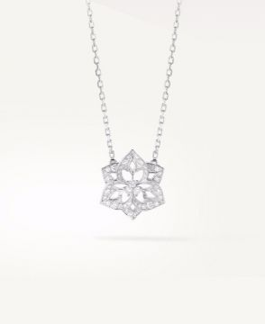 PENSÉE DE DIAMANTS SMALL PENDANT - JPN00498