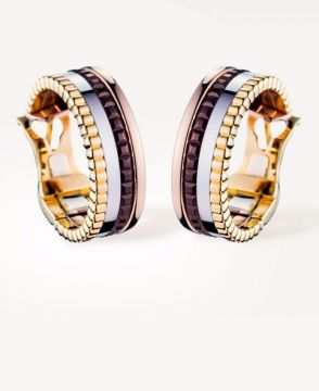 QUATRE CLASSIQUE HOOP EARRINGS - JCO00481