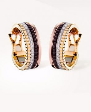 QUATRE CLASSIQUE HOOP EARRINGS - JCO00510