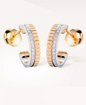 QUATRE RADIANT EDITION HOOP EARRINGS - JCO00671