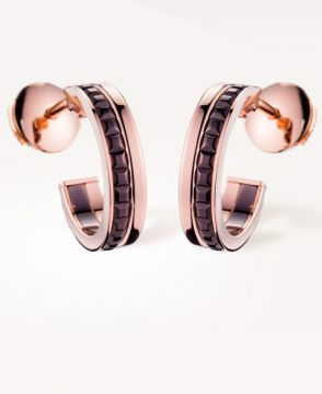 QUATRE CLASSIQUE HOOP EARRINGS - JCO00708
