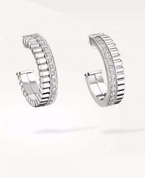 QUATRE RADIANT EDITION HOOP EARRINGS - JCO00964