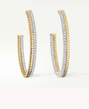 QUATRE RADIANT EDITION HOOP EARRINGS - JCO00969