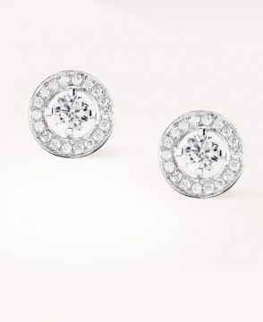 AVA ROUND STUD EARRINGS - JCOT7AFA04