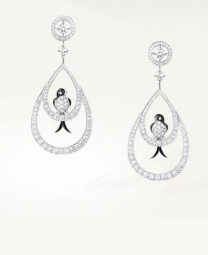 HIRUNDA, THE SWALLOWS PENDANT EARRINGS - JCO01216