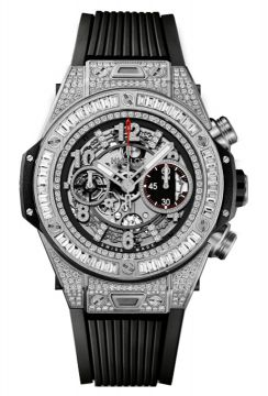 BIG BANG UNICO TITANIUM JEWELLERY 45 mm - 411.NX.1170.RX.0904