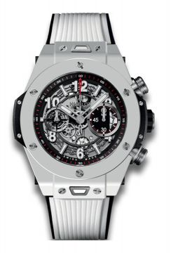 BIG BANG UNICO WHITE CERAMIC 45 mm  - 411.HX.1170.RX