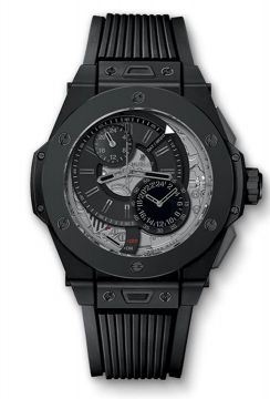 BIG BANG ALARM REPEATER ALL BLACK 45 mm - 403.CI.0140.RX