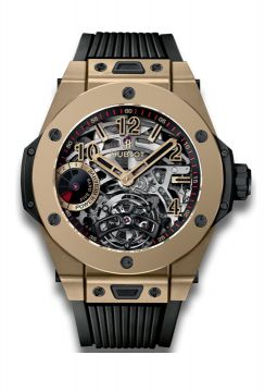 BIG BANG TOURBILLON POWER RESERVE 5 DAYS FULL MAGIC GOLD 45 mm - 405.MX.0138.RX