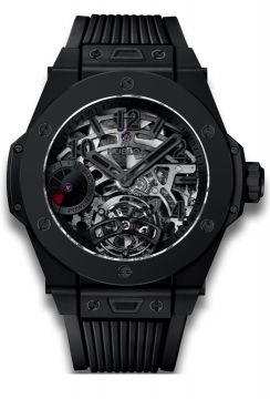 BIG BANG TOURBILLON POWER RESERVE 5 DAYS ALL BLACK 45 mm - 405.CI.0110.RX