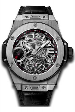 BIG BANG TOURBILLON POWER RESERVE 5 DAYS TITANIUM 45 mm - 405.NX.0137.LR