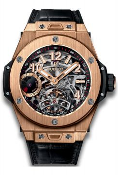 BIG BANG TOURBILLON POWER RESERVE 5 DAYS KING GOLD 45 mm - 405.OX.0138.LR
