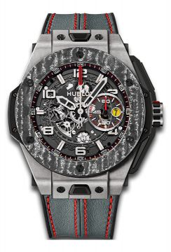 BIG BANG FERRARI TITANIUM CARBON 45 mm - 401.NJ.0123.VR
