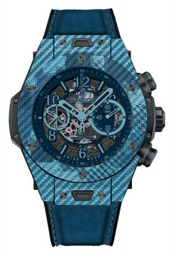 Big Bang Unico Italia Independent Blue Camo  45 mm - 411.YL.5190.NR.ITI16